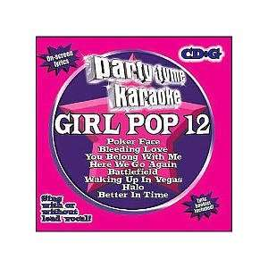 Party Tyme Karaoke   Girl Pop, Vol. 12 CD Toys & Games