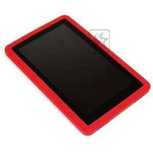 Case Star ® Red silicone soft protection case/cover/skin