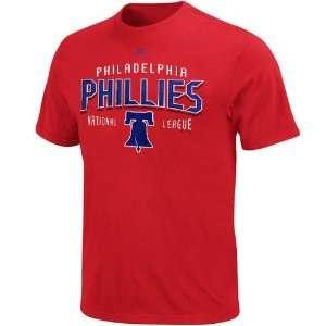 Philadelphia Phillies Red Base Knock T shirt