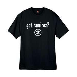 Mens Got Ramirez ? Black T Shirt Size Large Sports