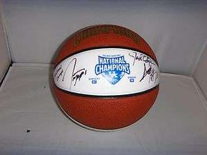 2011 12 KENTUCKY WILDCATS SIGNED TEAM CHAMPIONSHIP FULL SIZE LOGO