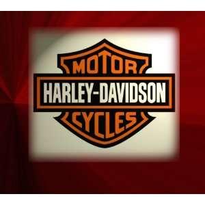 Harley Davidson Logo Graphics Custom Photo Mouse Pad, Mat