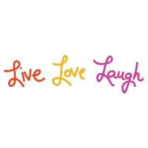 Graphique Home Decal, Live Love Laugh Baby