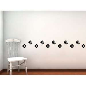 Prints walking decal (6) 2.5 great for wall or car