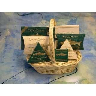 Kosher Gift Basket   Emerald Green Smoked Salmon (USA)