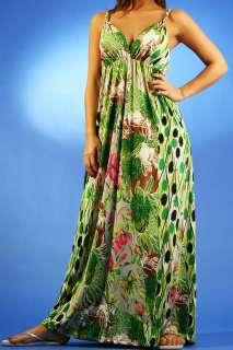 MYMA Long Womens MAXI Summer DRESS Boho/Hippie/Evening/Cocktail/Party