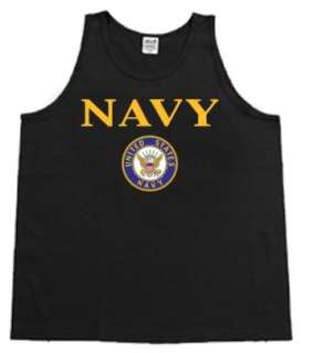 US United States Navy USN Mens Tank Top Muscle t shirt