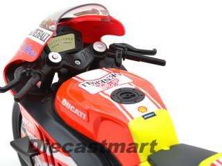 DUCATI DESMOSEDICI GP 11 VALENTINO ROSSI DIECAST MOTORCYCLE #46