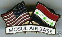 MOSUL AIR BASE, OPERATION IRAQI FREEDOM IRAQ PIN