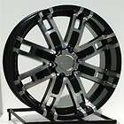 17 inch Black Wheels/Rims Chevy GMC 6 Lug 1500 Truck