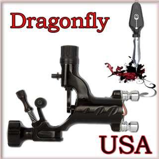 Dragonfly Injection Molding Tattoo Machine Shader Gun Black