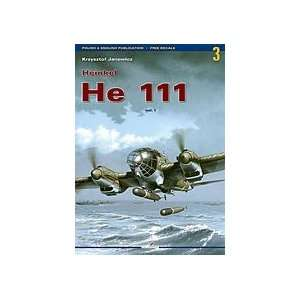 Kagero Monographs: Heinkel He111 Vol.1: Toys & Games