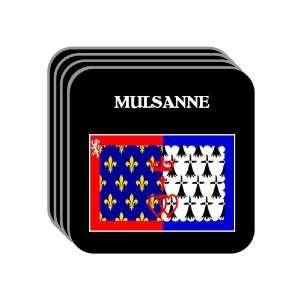 Pays de la Loire   MULSANNE Set of 4 Mini Mousepad