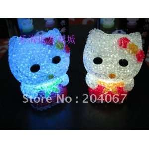 hello kitty led lamp toys with dianond 8cm size l188 Toys