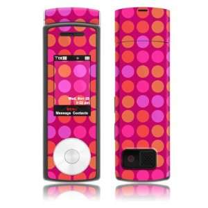 Big Dots Pink Design Protective Skin Decal Sticker for