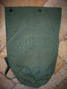 US Military 2 Strap Nylon Backpack Issue Duffel Bag US