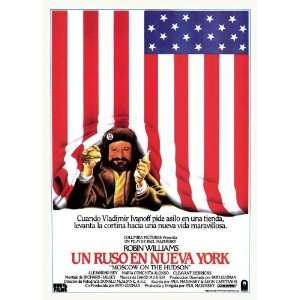 Moscow on the Hudson Movie Poster (11 x 17 Inches   28cm x 44cm) (1984