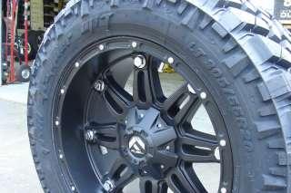 Fuel Hostage Black 18 Nitto Trail M/T 35x12.50 18