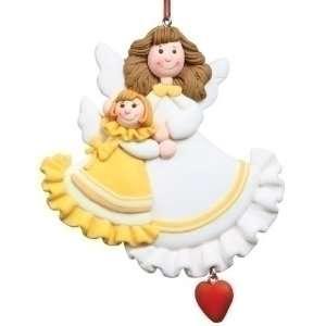 Club Pack of 12 Angel Mom & Daughter Keepsake Christmas
