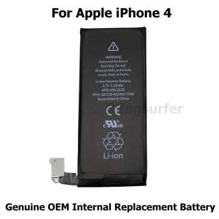 New Genuine OEM Replacement Battery for iPhone 4 4G