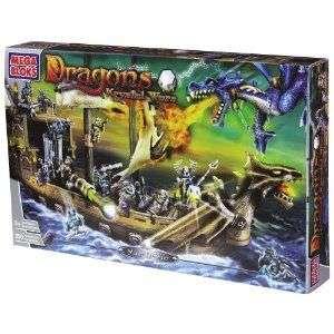 Mega Bloks Dragons Man O War Playset New MISB