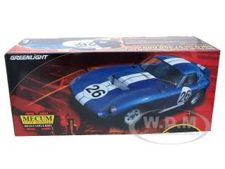 Brand new 1:18 scale diecast car model of 1965 Shelby Cobra Daytona