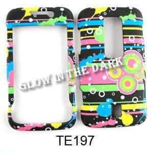CELL PHONE CASE COVER FOR HUAWEI ASCEND M860 GLOW RAINBOW