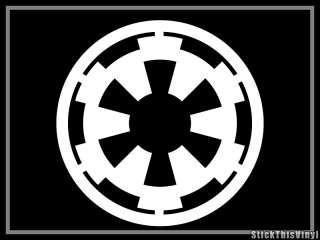 Galactic Empire Star Wars Logo Decal Vinyl Sticker (2x)