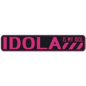 IDOLA IS MY IDOL  STREET SIGN: Home Improvement
