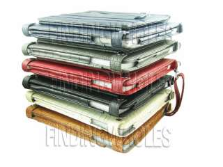 WALLET LEATHER CASE COVER POUCH BAG FOR IPAD 2 IPAD2 BK
