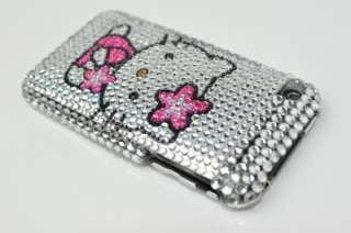Hello Kitty Bling Hard Case Cover For iPhone 3G 3GS