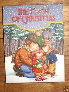 MARY ENGELBREIT THE MAGIC OF CHRISTMAS POCKET PAD