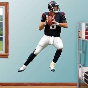 Matt Schaub Fathead Wall Graphic   NFL