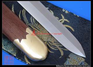 Hand Forged Folded Steel Chinese Jian Short Sword