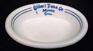 Transport Co Mystic Conn Steamship Dinnerware Greenwood China JMD&S Co