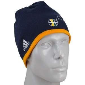 Jazz Navy Blue Official Team Knit Beanie  Sports