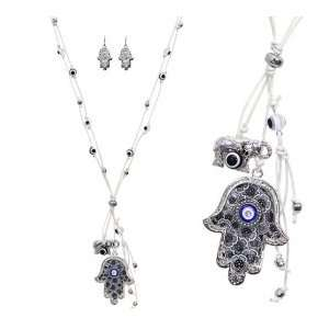 Fashion Jewelry Desinger Inspired Evil Eye and Hamsa Symbol