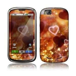 Love Love Love Decorative Skin Decal Sticker for Motorola Cliq 2