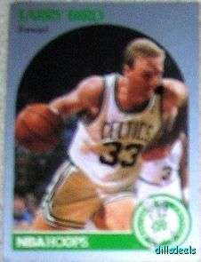 Larry Bird Card #39 Boston Celtics NBA HOOPS 90 VGC