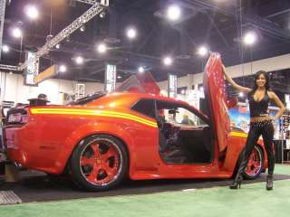 DODGE CHALLENGER 08 UP LAMBO DOOR KIT VERTICAL DOORS