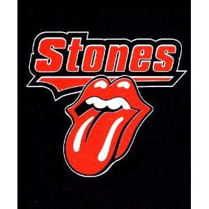 Rolling Stones Baseball Logo Fleece Throw #9 Everything