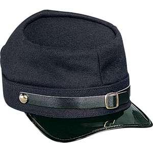 NAVY BLUE UNION Army Civil War Hat ADJUSTABLE KEPI Cap