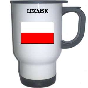 Poland   LEZAJSK White Stainless Steel Mug