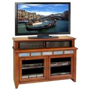 Laredo Creek 48 Two Tier Entertainment Center in Spiced