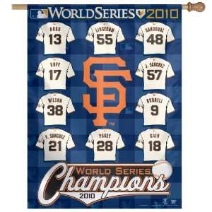 MLB San Francisco Giants 2010 World Series Champion