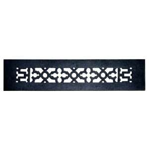 Acorn Manufacturing GR4BG D Black 16 x 3 1/2 Cast Iron