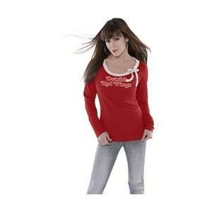 Fashion Top touch by Alyssa Milano   Detroit Red Wings Medium