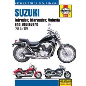 Haynes Manual SUZUKI INTR/MARUD/VOL/BLVD SUZUKI INTRUDER