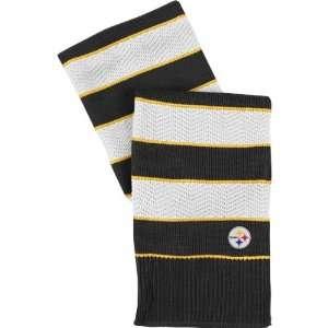 Reebok Pittsburgh Steelers Womens Striped Scarf