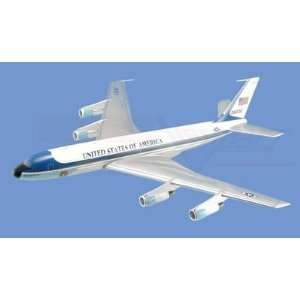 Boeing VC 137, Air Force One Aircraft Model Mahogany